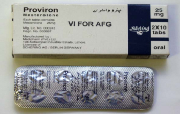 proviron blood work